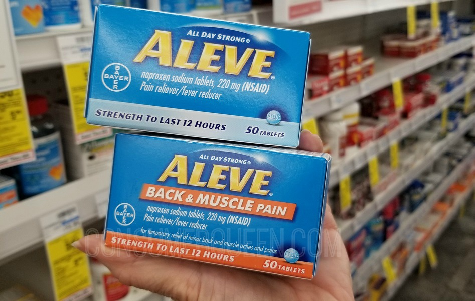 aleve 50 count pain relief