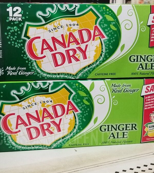 canada dry 12 packs