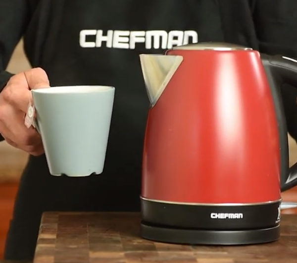 chefman color changing electric kettle