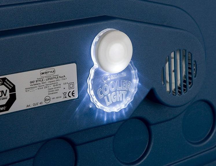 coghlans adhesive cooler light