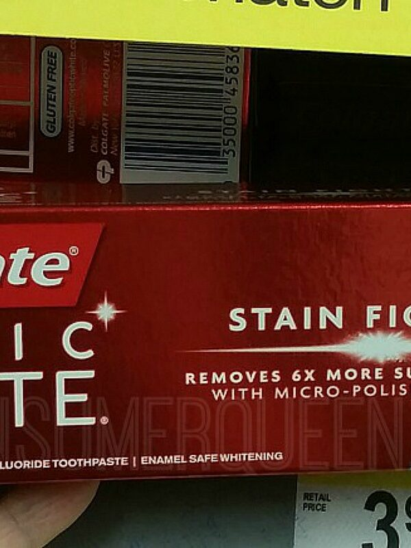 colgate optic white at walgreens