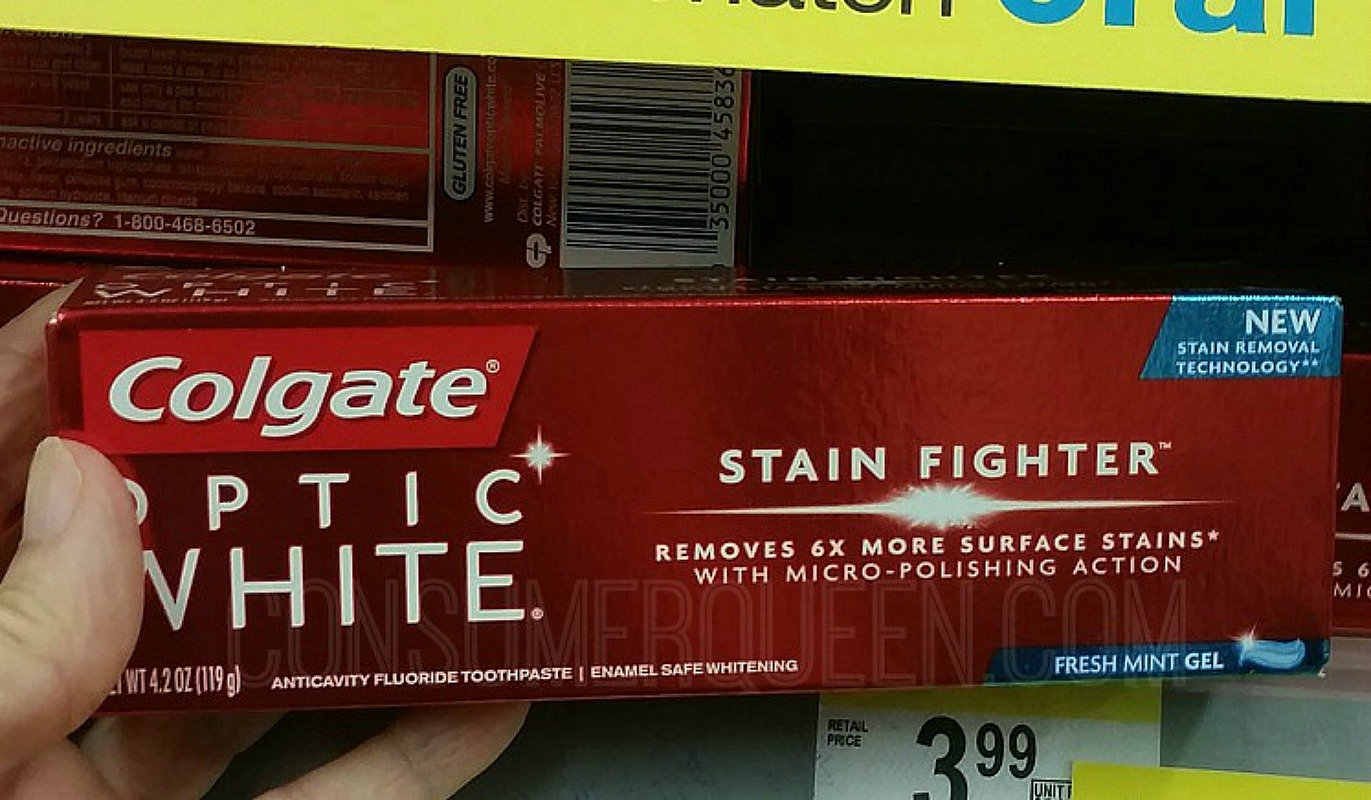 Colgate Toothpaste as Low as 49¢ at the Drugstores