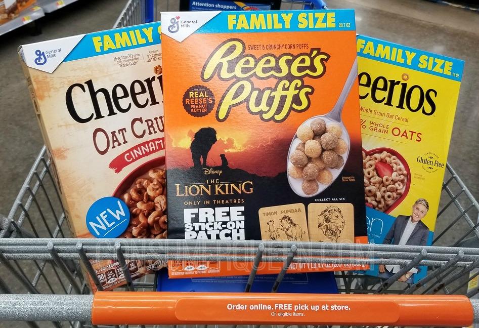 BIG Family Size GM Cereals Only $2.14 at Walmart After Cash Back