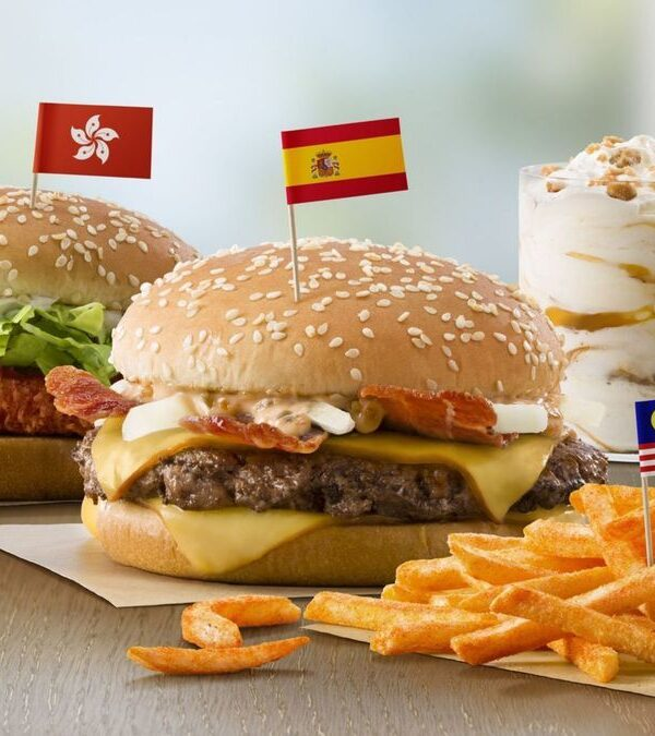 foreign currency promo at McDonald's