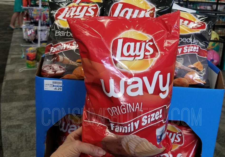 Lay's Family Size Chips as Low as $2.15 at CVS