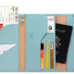 multi purpose travel wallet