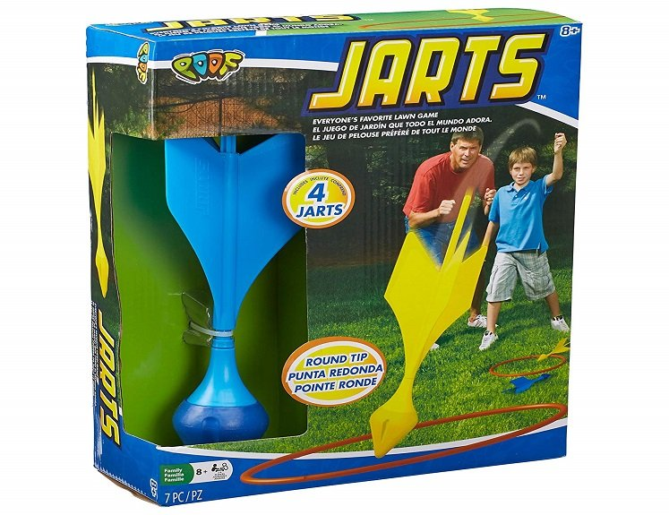 Outdoor Lawn Dart Game by POOF $15.70 on Amazon!