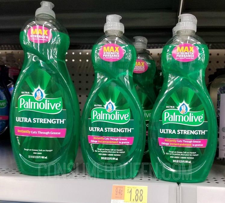 Palmolive 20 Ounce 49¢ at Walgreens & 63¢ at Walmart After Rewards