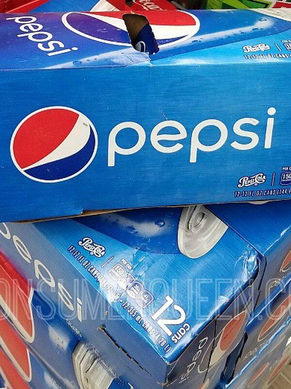 pepsi 12 pack soda