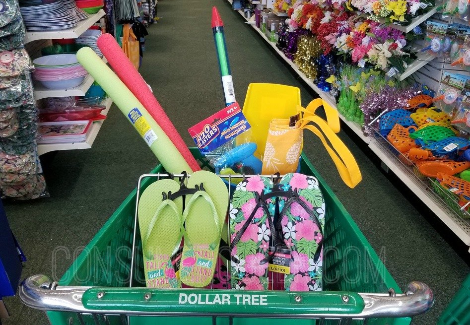 look cool at the pool - shop dollar tree