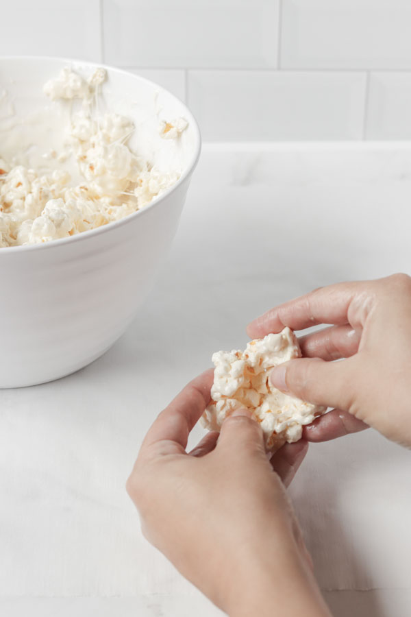 pull apart popcorn