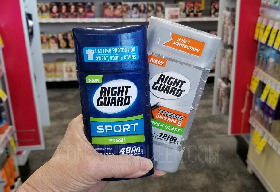 Surprise Right Guard Deal at CVS – Just 75¢ Each After Rewards