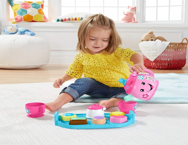 Sweet Manners Tea Set by Fisher-Price $11.00 on Amazon!