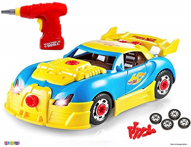Take Apart Race Car Only $13.99(reg. $45.99) on Amazon!