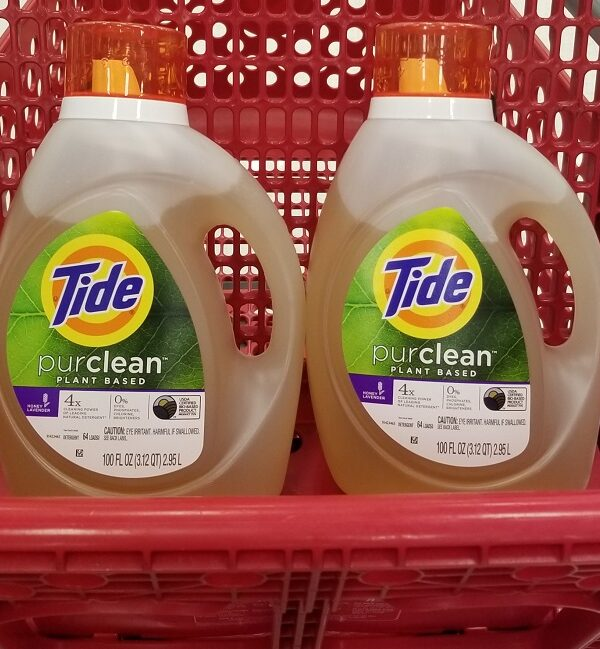tide purclean detergent at target