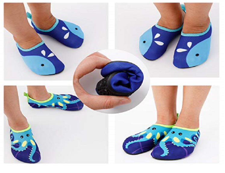 Toddler Swim Shoes Only $11.99 on Amazon!