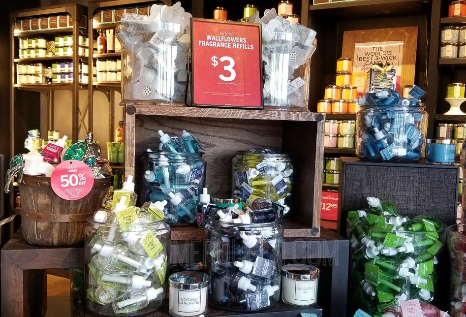 wallflower refills semi annual sale