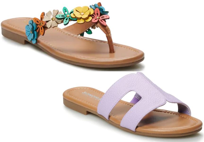 Kohl's Cardholders: Women's Sandals as Low as $6.99 Shipped (Reg. $25)