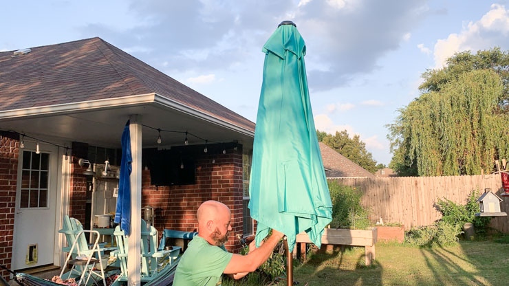Abba Patio Umbrella Pole Together