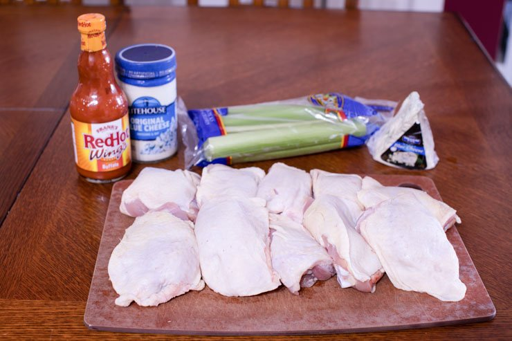 Buffalo Chicken Cracklin Ingredients