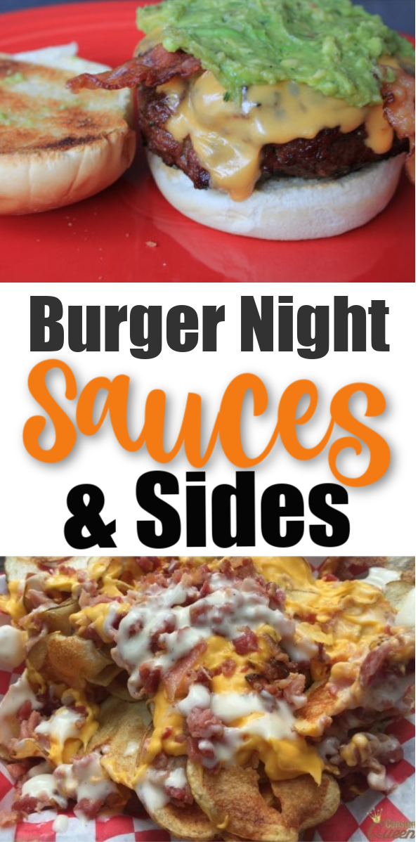 Burger Night Sauces and Sides: Recipe Roundup!