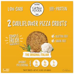 Cauliflower Pizza Crusts Back to School Food