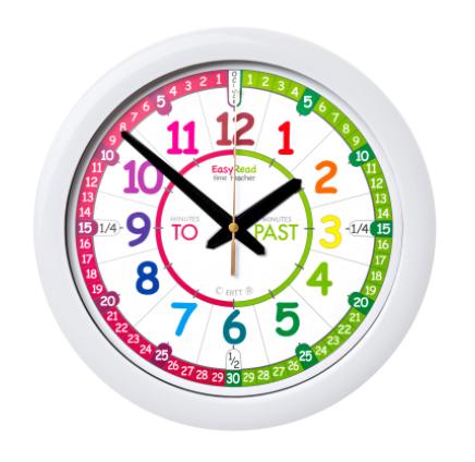 Easy Read Clock Easy Read Time Teacher