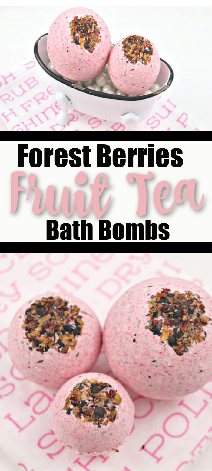 Forest Berries Fruit Tea Bath Mini Tub