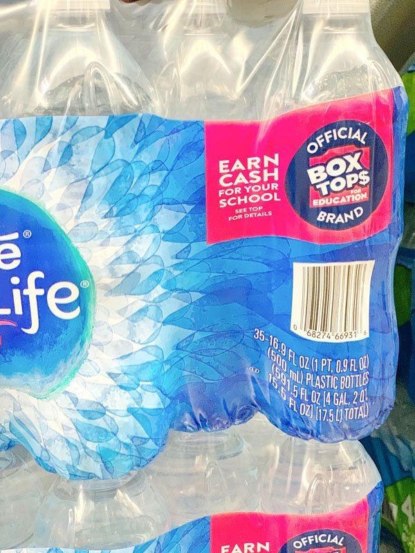 Nestle Pure Life Water Box Tops