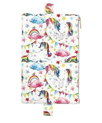 Unicorn wrap around pencil case