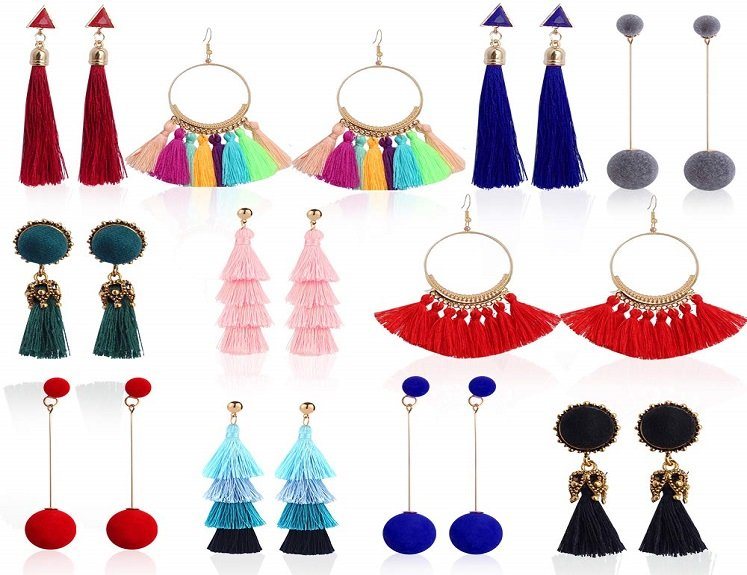 Assorted Fashion Earring Set for $11.99 on Amazon!