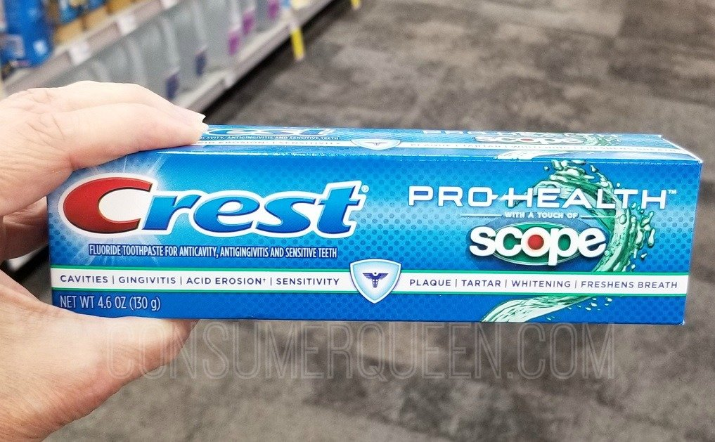 crest toothpaste at cvs