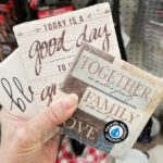 cute beverage coasters at dollar tree