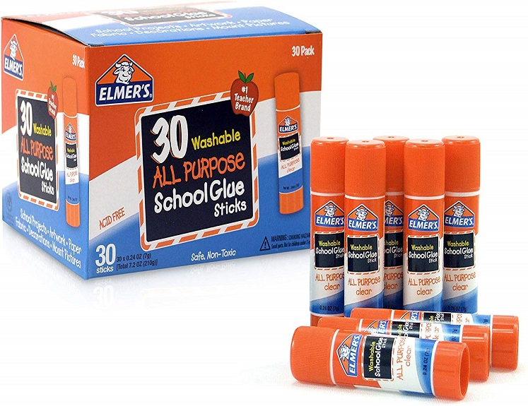 elmers washable glue sticks