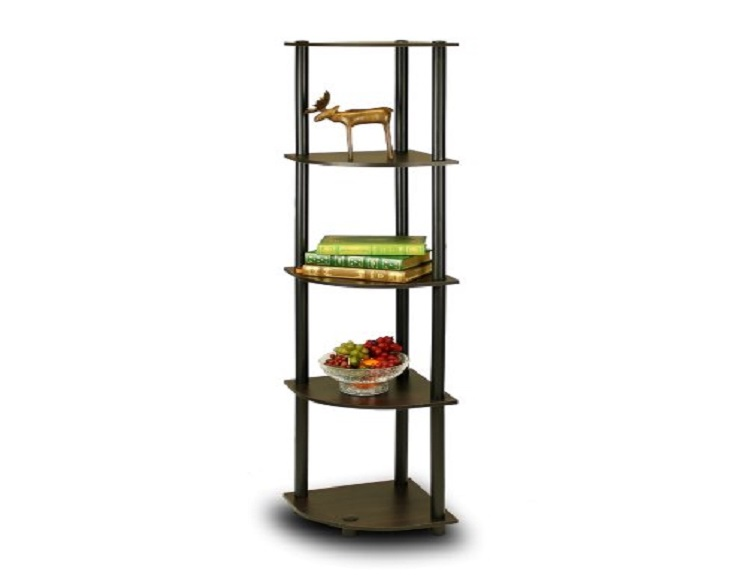 Five Tier Corner Shelf Only $19.77(reg. $54.99) on Amazon!