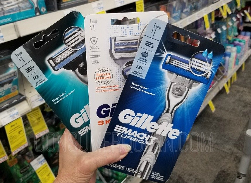 Gillette Razor Deals at CVS & Walgreens (as Low as FREE!)