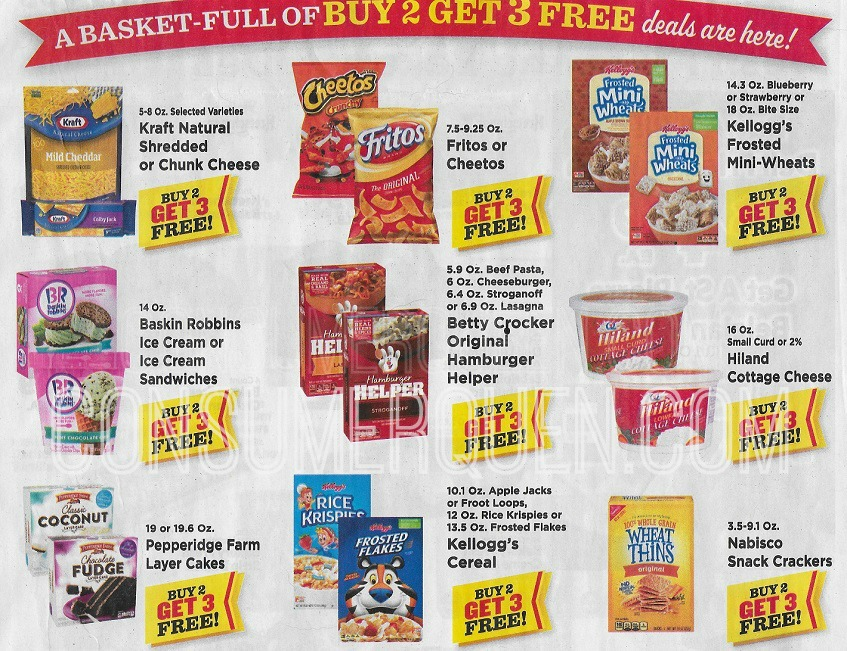 Buy 2 Get 3 Sale Coming to Homeland & Country Mart