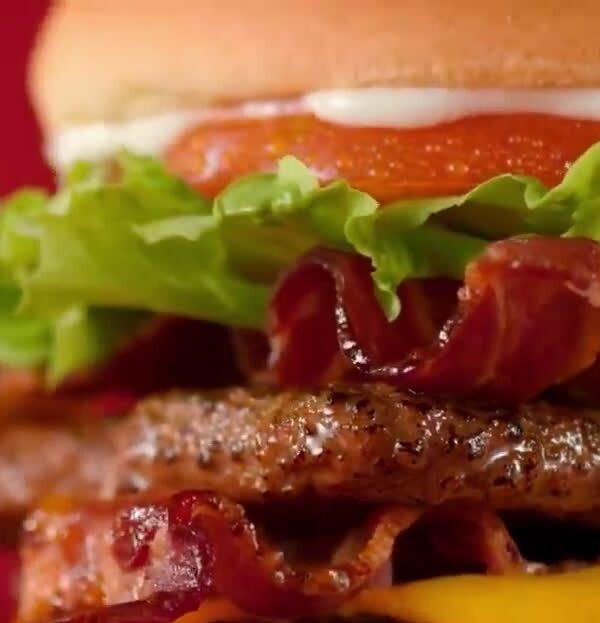 junior bacon cheese burger