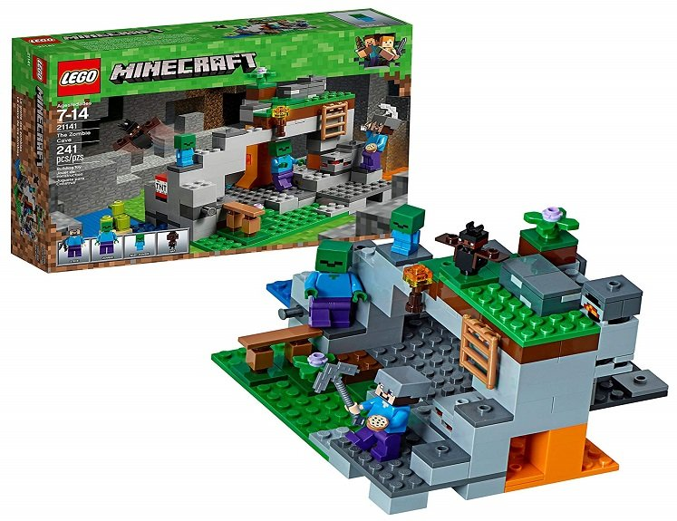 LEGO Minecraft Zombie Cave Building Kit $15.99 on Amazon!