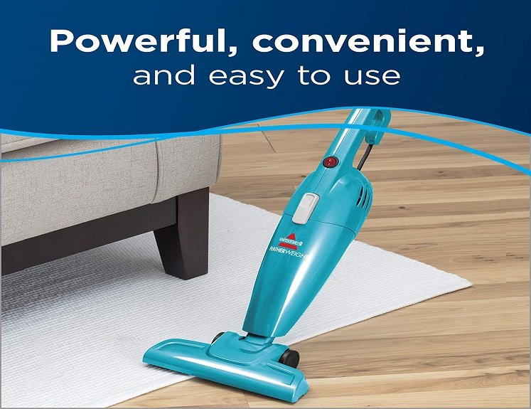 lightweight bagless stick vacuum