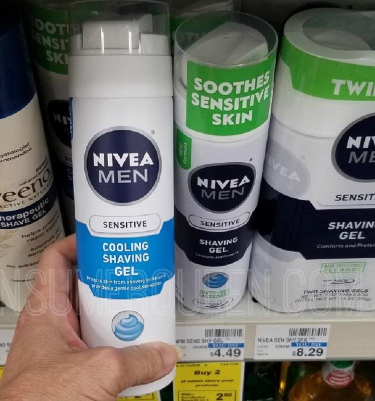 Nivea Shave Gel Only 14¢ at CVS After Rewards