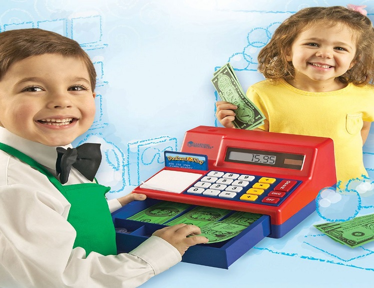 Pretend & Play Cash Register by Learning Resources $23.99 on Amazon!