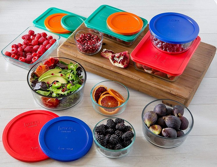 Pyrex Glass Container Set – 18 Pieces Just $23.87(reg. $44.99) on Amazon!