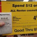 revlon cosmetics deal cvs
