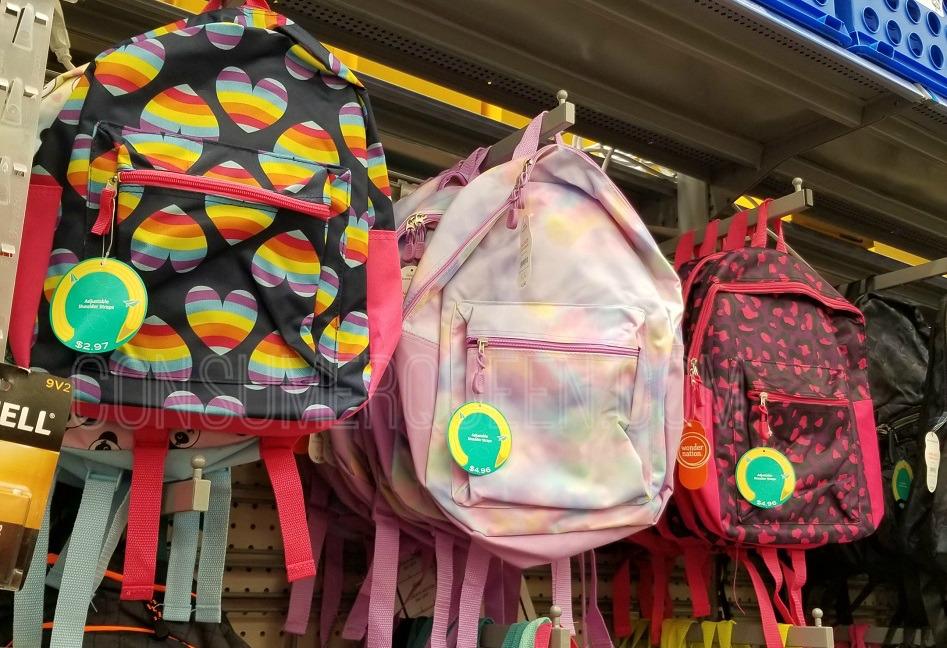 School Backpacks as Low as $4.96 + More at Walmart