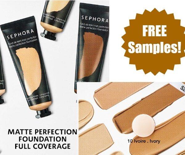 sephora foundation samples