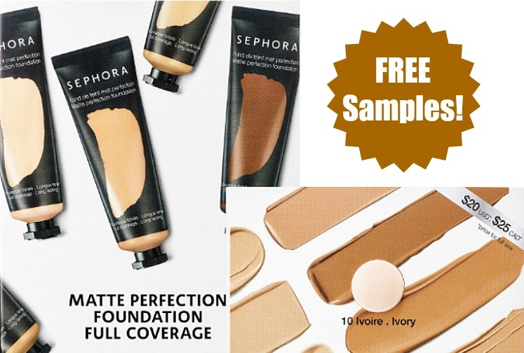 Sephora Foundation & Carol's Daughter Shampoo - FREE Samples