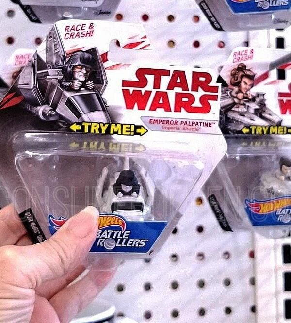 Star Wars Hot Wheels Battle Rollers at Dollar Tree