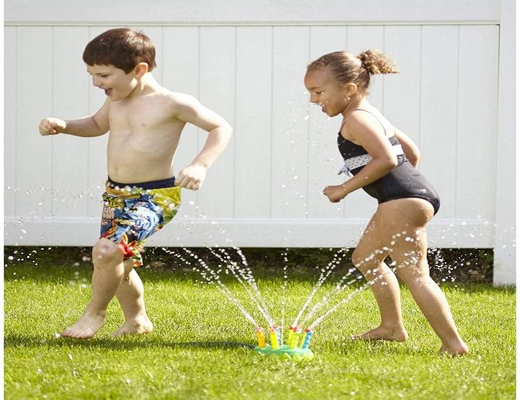 Sunny Patch Splash Sprinkler by Melissa & Doug $16.99 on Amazon!