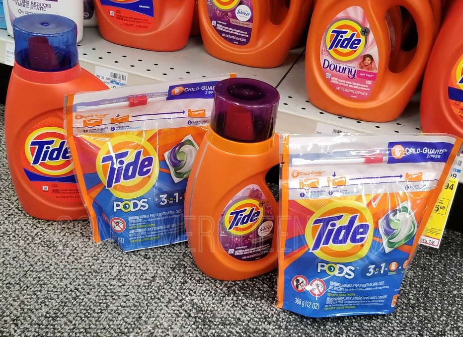 Tide Laundry Products $1.94 (or $1.19 each for some) at CVS!